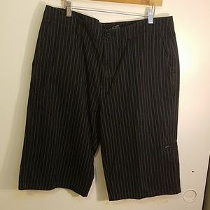 VANS Black Shorts w/Stripes, size 34